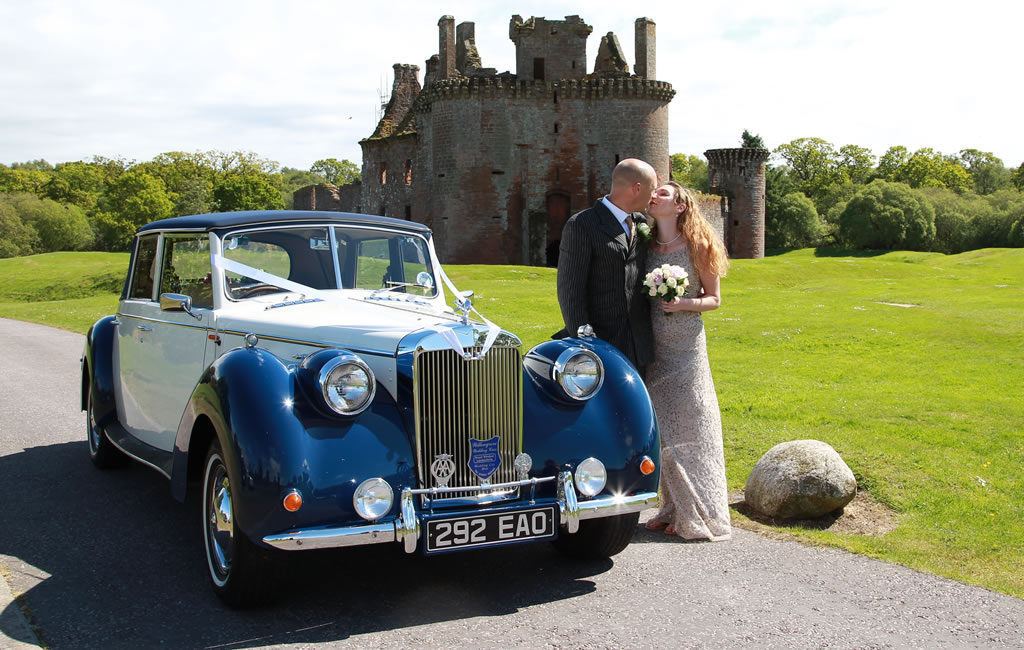 Royal Windsor wedding car for your Dumfries special occasion